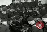 Image of US Navy sailors playing cards Great Lakes Illinois USA, 1917, second 12 stock footage video 65675077390