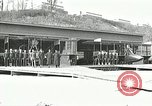 Image of US Navy seaplane aircraft training World War I Great Lakes Illinois USA, 1917, second 6 stock footage video 65675077395