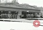Image of US Navy seaplane aircraft training World War I Great Lakes Illinois USA, 1917, second 7 stock footage video 65675077395