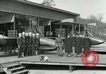 Image of US Navy seaplane aircraft training World War I Great Lakes Illinois USA, 1917, second 10 stock footage video 65675077395