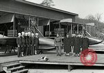 Image of US Navy seaplane aircraft training World War I Great Lakes Illinois USA, 1917, second 12 stock footage video 65675077395