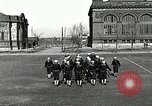 Image of US Navy sailors drill with howitzer Great Lakes Illinois USA, 1917, second 3 stock footage video 65675077397