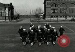Image of US Navy sailors drill with howitzer Great Lakes Illinois USA, 1917, second 6 stock footage video 65675077397