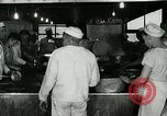 Image of kitchen operation at Naval Station Great Lakes Great Lakes Illinois USA, 1917, second 6 stock footage video 65675077399