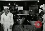 Image of kitchen operation at Naval Station Great Lakes Great Lakes Illinois USA, 1917, second 8 stock footage video 65675077399