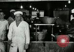 Image of kitchen operation at Naval Station Great Lakes Great Lakes Illinois USA, 1917, second 9 stock footage video 65675077399