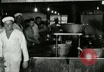 Image of kitchen operation at Naval Station Great Lakes Great Lakes Illinois USA, 1917, second 10 stock footage video 65675077399