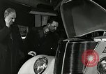Image of twenty-five millionth Ford car United States USA, 1936, second 10 stock footage video 65675077409