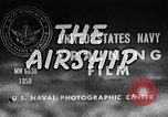 Image of American airship United States USA, 1950, second 9 stock footage video 65675077413