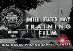 Image of 5 inch 38 caliber Dahlgren Virginia USA, 1951, second 11 stock footage video 65675077429