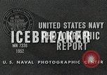 Image of Icebreaker, USS Burton Island (AGB-1) Pacific Ocean, 1952, second 9 stock footage video 65675077432