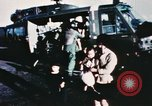 Image of wounded children airlifted via helicopter Vietnam, 1966, second 8 stock footage video 65675077439