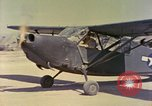 Image of L-5 aircraft Okinawa Ryukyu Islands, 1945, second 12 stock footage video 65675077472