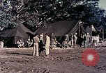 Image of Okinawa wounded evacuated Okinawa Ryukyu Islands, 1945, second 10 stock footage video 65675077506