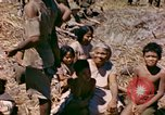 Image of natives Eniwetok Atoll Marshall Islands, 1944, second 11 stock footage video 65675077521