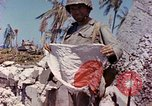 Image of dead soldiers Eniwetok Atoll Marshall Islands, 1944, second 2 stock footage video 65675077522