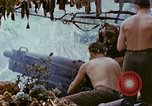 Image of wounded Marines Saipan Northern Mariana Islands, 1945, second 8 stock footage video 65675077538