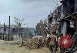 Image of wounded Marines Saipan Northern Mariana Islands, 1945, second 8 stock footage video 65675077539