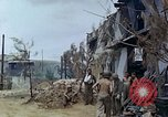 Image of wounded Marines Saipan Northern Mariana Islands, 1945, second 9 stock footage video 65675077539