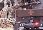 Image of wounded Marines Saipan Northern Mariana Islands, 1945, second 7 stock footage video 65675077540