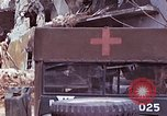 Image of wounded Marines Saipan Northern Mariana Islands, 1945, second 8 stock footage video 65675077540