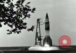 Image of A-4 missile Peenemunde Germany, 1943, second 2 stock footage video 65675077606