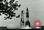 Image of A-4 missile Peenemunde Germany, 1943, second 3 stock footage video 65675077606