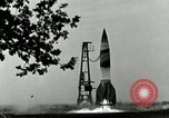 Image of A-4 missile Peenemunde Germany, 1943, second 4 stock footage video 65675077606