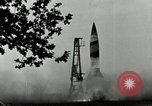 Image of A-4 missile Peenemunde Germany, 1943, second 5 stock footage video 65675077606