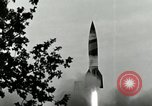 Image of A-4 missile Peenemunde Germany, 1943, second 6 stock footage video 65675077606