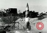 Image of German A-4 missile Peenemunde Germany, 1943, second 2 stock footage video 65675077608
