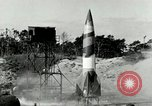 Image of German A-4 missile Peenemunde Germany, 1943, second 3 stock footage video 65675077608