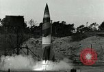 Image of German A-4 missile Peenemunde Germany, 1943, second 2 stock footage video 65675077611