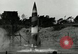 Image of German A-4 missile Peenemunde Germany, 1943, second 4 stock footage video 65675077611
