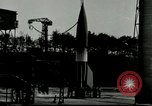 Image of German A-4 missile Peenemunde Germany, 1943, second 4 stock footage video 65675077612