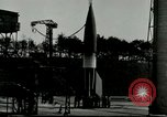 Image of German A-4 missile Peenemunde Germany, 1943, second 5 stock footage video 65675077612