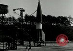 Image of German A-4 missile Peenemunde Germany, 1943, second 6 stock footage video 65675077612