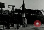Image of German A-4 missile Peenemunde Germany, 1943, second 8 stock footage video 65675077612