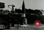 Image of German A-4 missile Peenemunde Germany, 1943, second 9 stock footage video 65675077612