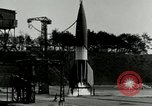 Image of German A-4 missile Peenemunde Germany, 1943, second 10 stock footage video 65675077612