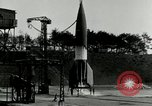 Image of German A-4 missile Peenemunde Germany, 1943, second 11 stock footage video 65675077612