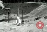 Image of German A-4 missile Peenemunde Germany, 1943, second 2 stock footage video 65675077613