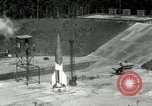 Image of German A-4 missile Peenemunde Germany, 1943, second 5 stock footage video 65675077613