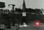 Image of German A-4 missile test Peenemunde Germany, 1943, second 4 stock footage video 65675077614
