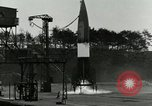 Image of German A-4 missile test Peenemunde Germany, 1943, second 5 stock footage video 65675077614