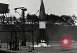 Image of German A-4 missile test Peenemunde Germany, 1943, second 6 stock footage video 65675077614