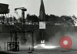 Image of German A-4 missile test Peenemunde Germany, 1943, second 7 stock footage video 65675077614