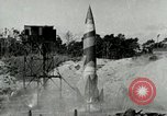 Image of German A-4 missile Peenemunde Germany, 1943, second 2 stock footage video 65675077616
