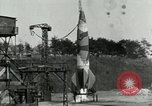 Image of German A-4 missile Peenemunde Germany, 1944, second 3 stock footage video 65675077619