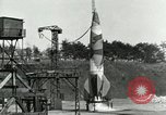 Image of German A-4 missile Peenemunde Germany, 1944, second 4 stock footage video 65675077619